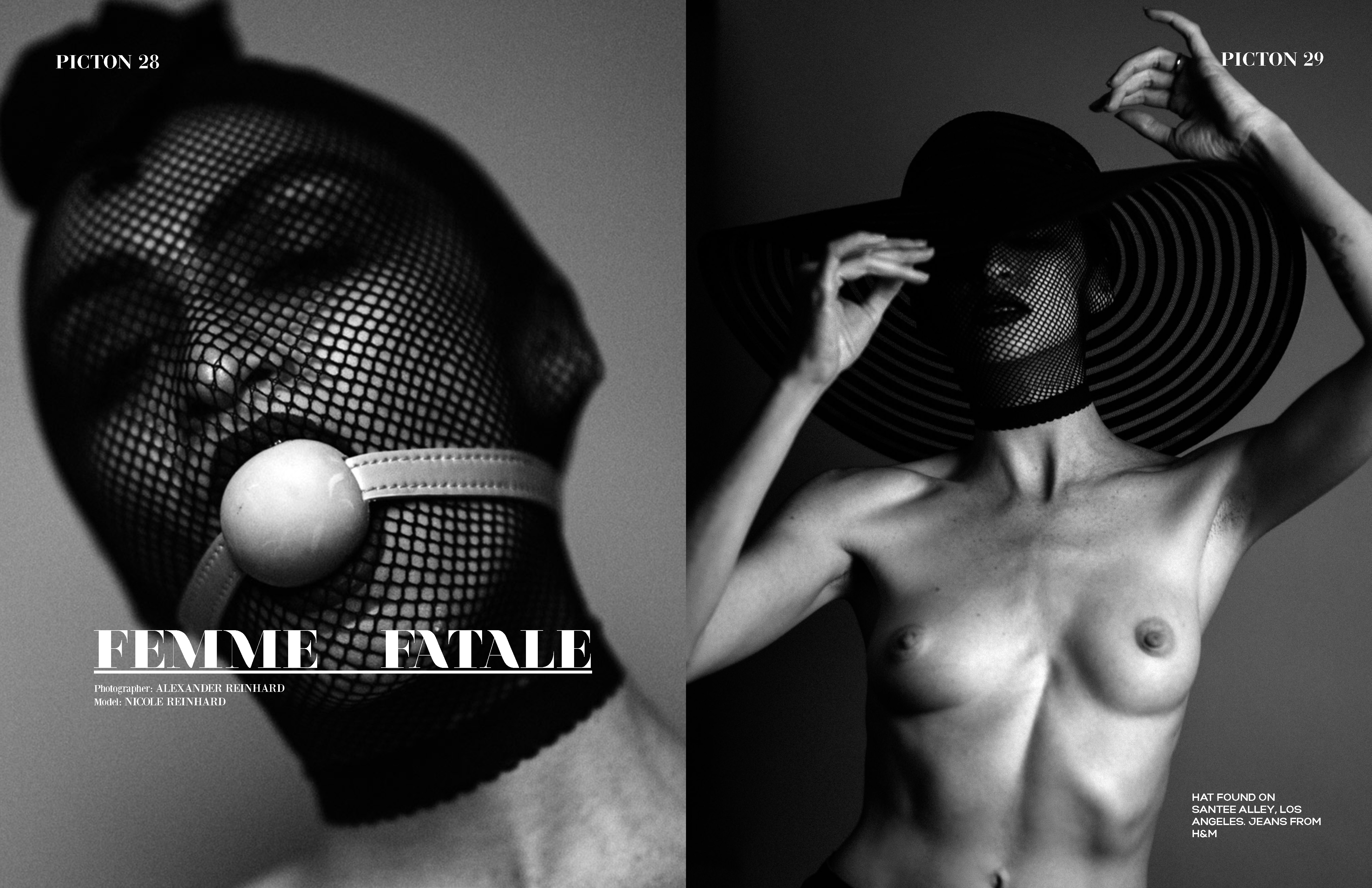 Femme Fatale (Picton Magazine No 253 Cover)
