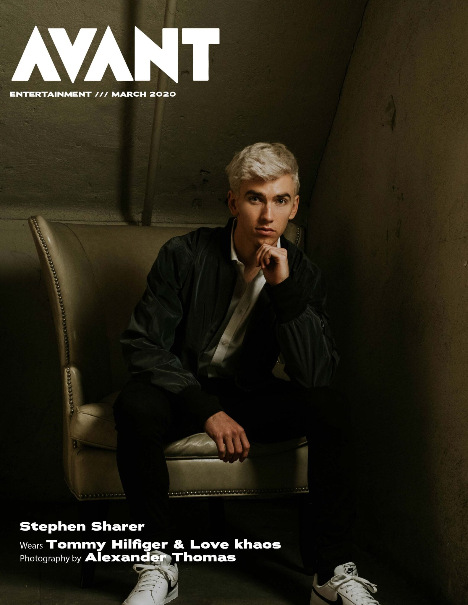 Stephen Sharer (Avante Magazine)
